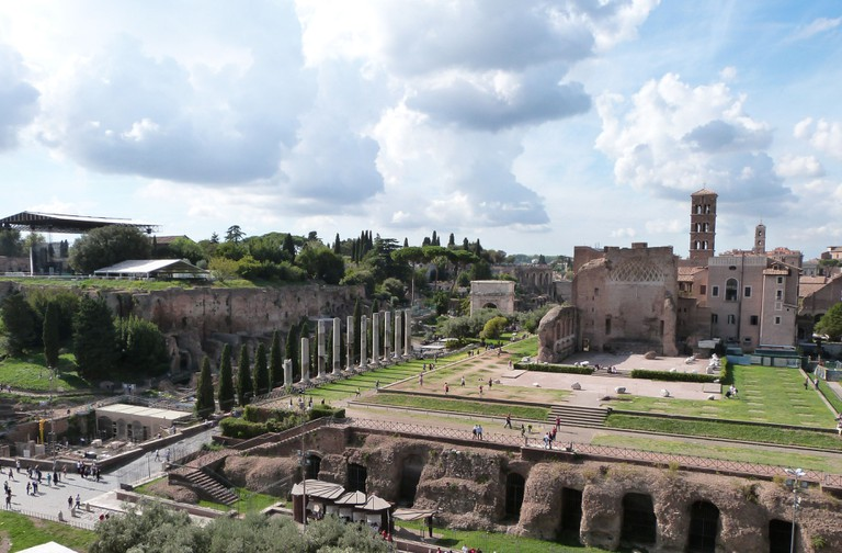 View from the Colosseum | © Courtesy of Adrian Law