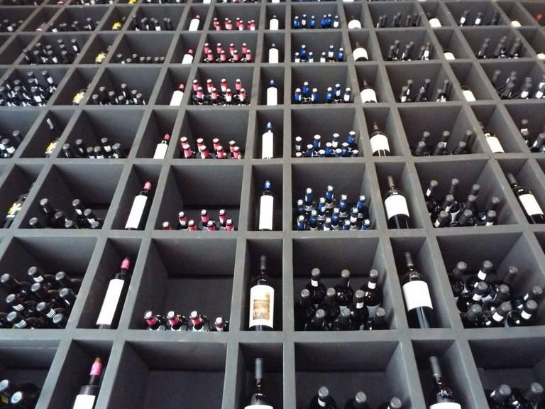 Wall of wine – Baja California │