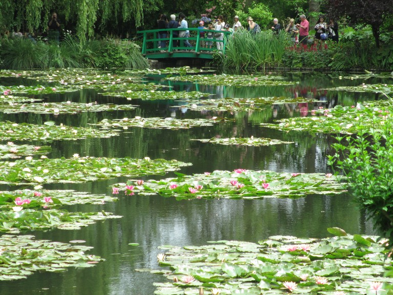 The water lily pond at Giverny | © Dr Avishai Teicher / WikiCommons
