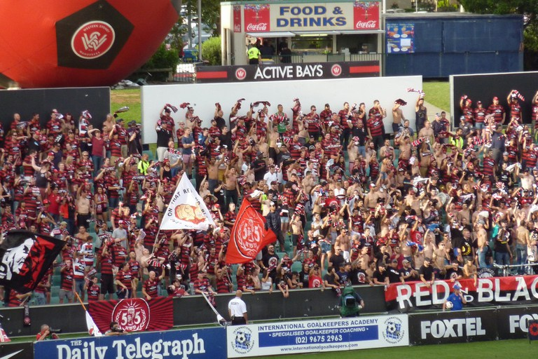 Western Sydney Wanderers fans | © Keith Parry/Flickr