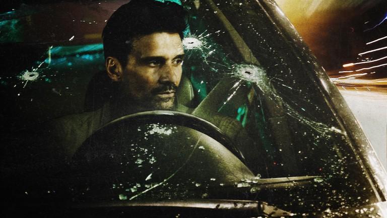Frank Grillo in 'Wheelman' | © Netflix
