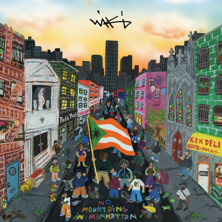Wiki's 'No Mountains in Manhattan' album cover | © XL Recordings