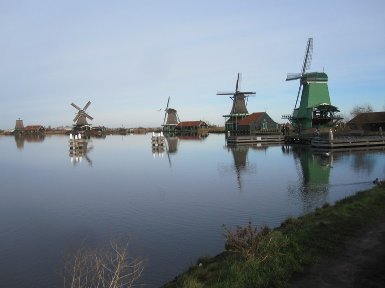 A cold morning at Zaans Schans