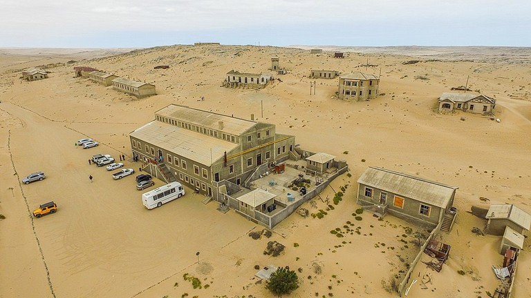 Ariel view of Kolmanskop