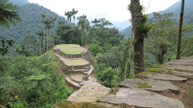 Lost city ruins of Pueblito, Colombia | © Gavin Rough/Flickr