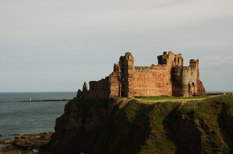 Tantallon Castle | © Magnus Hagdorn / Flickr