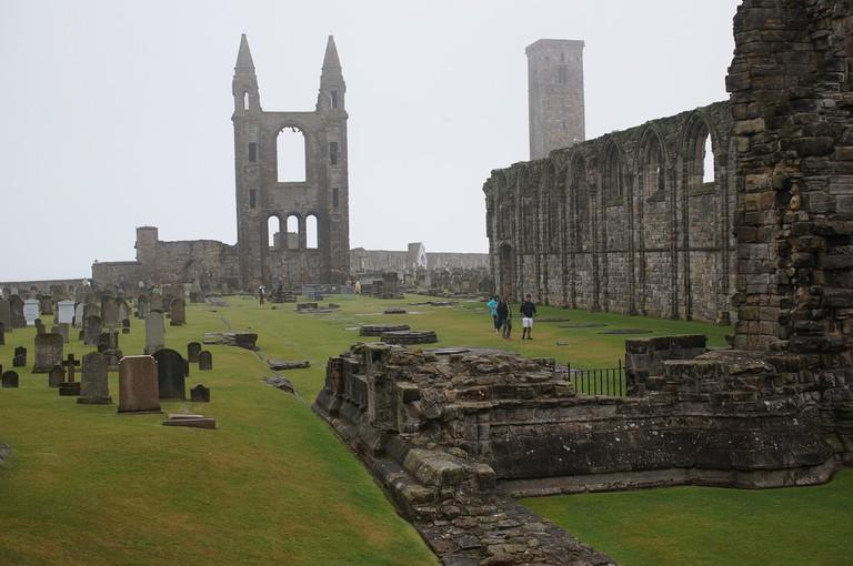 Cathedral of St. Andrews, Scotland   © Steffen Zahn / Flickr