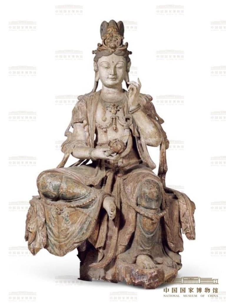 15 Wooden Statue of the Guan Yin Bodhisattva