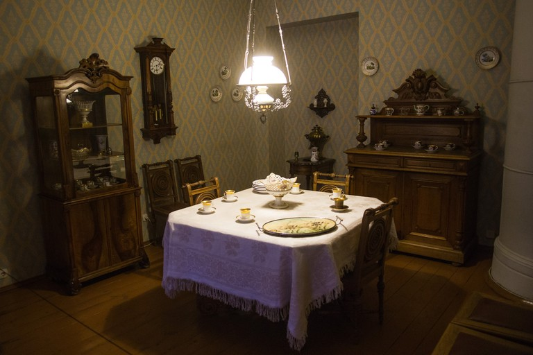 At the Dostoevsky Museum