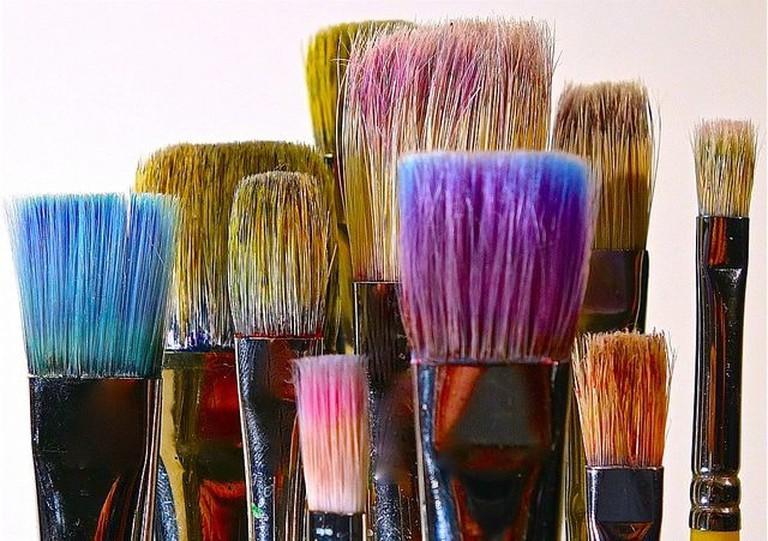Brushes   © Dean Hochman / Flickr