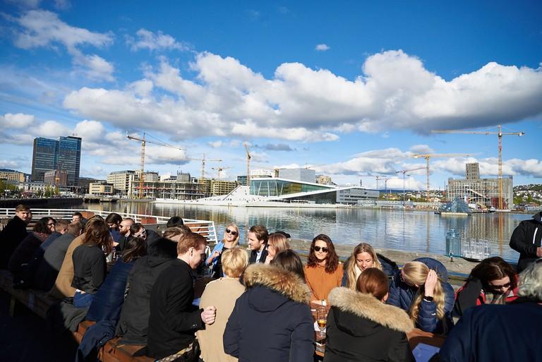 The SALT location, just across the Oslo Opera | © Baard Henriksen, Courtesy of SALT