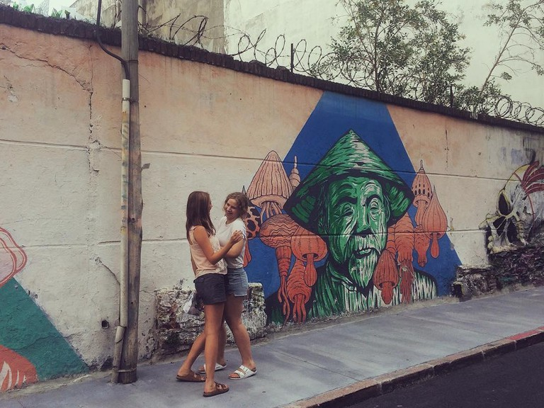 Street Art in Ciudad Vieja