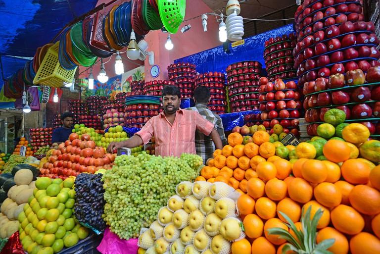 A fruit shop