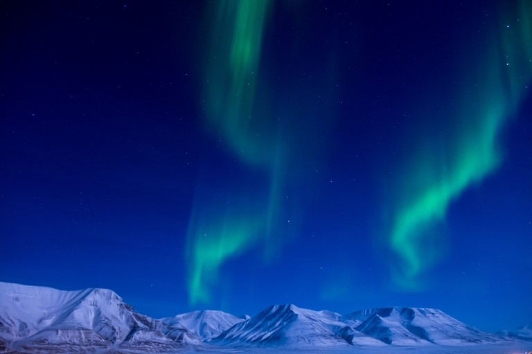 Northern Lights on Svalbard | © Frode Ramone / Flickr
