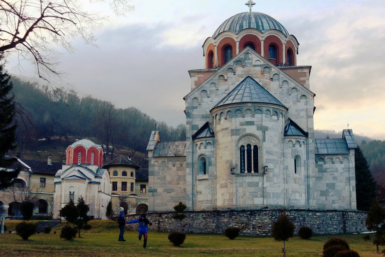 The majestic monastery at Studenica | © ljubr / flickr