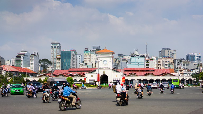 Busy Ho Chi Minh City   © Ludovic Lubeigt/Flickr