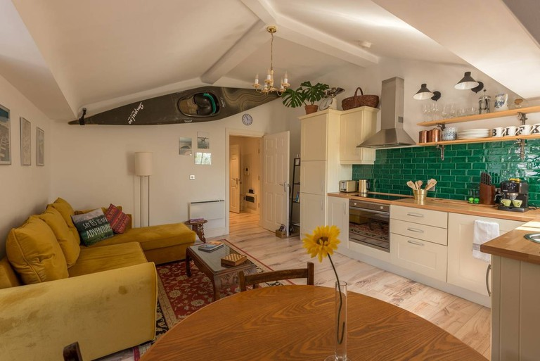 Quirky travellers loft in Liverpool