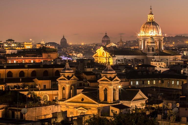 The Rome skyline at night | © Дмитрий Бондарев/Flickr