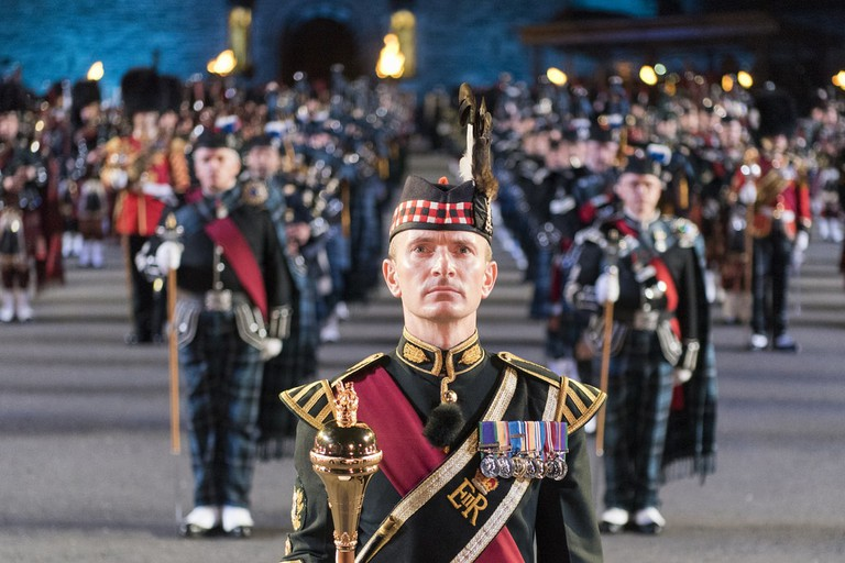 CJCS attends the Royal Edinburgh Military Tattoo   © Chairman of the Joint Chiefs of Staff / Flickr