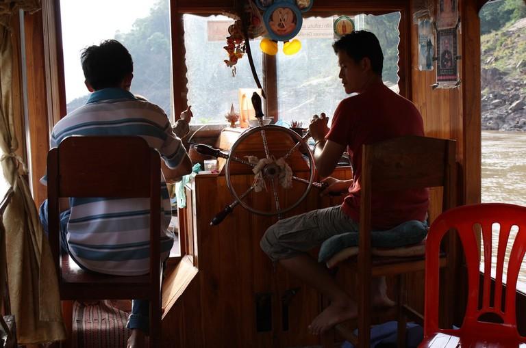 Slow Boat on the Mekong   © Dan Searle/Flickr