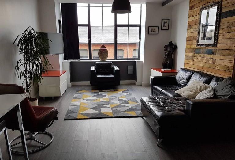 Contemporary loft-style apartment in Digbeth, Birmingham