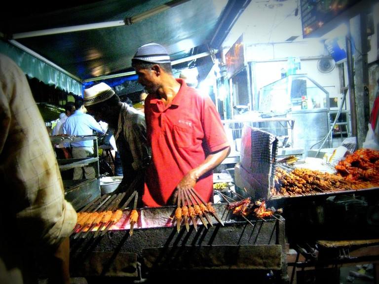 Street kebabs
