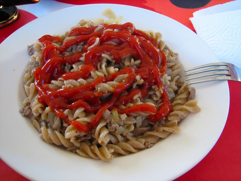 Ketchup is not an appropriate sauce for pasta | © Antti T. Nissinen/Flickr