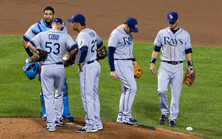 The Tampa Bay Rays lost to the Philadelphia Phillies in the 2008 World Series