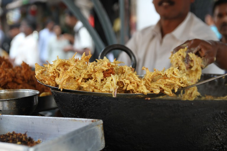 Streed food in India