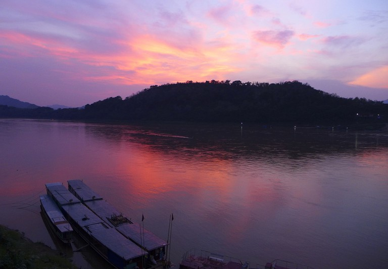 Sunset, Laos | © Madeleine Deaton/Flickr