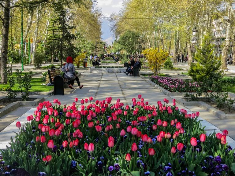 Springtime in Mellat Park, Tehran | © Ninara / Flickr