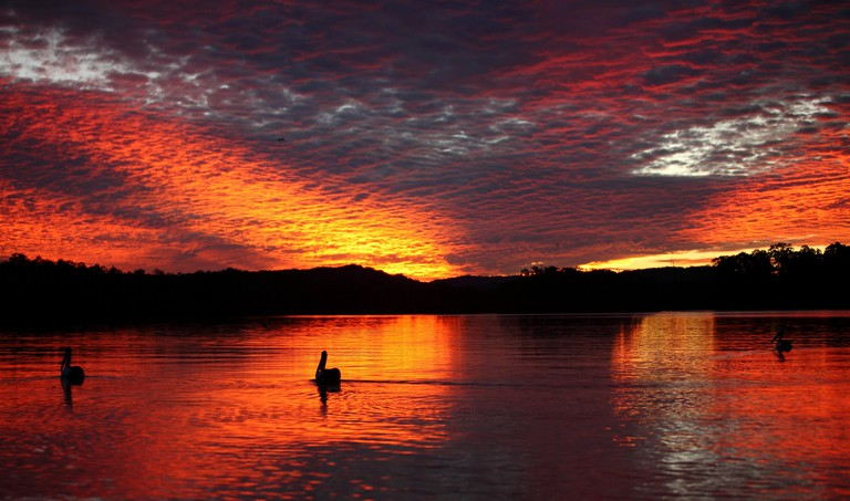 Sunset over the Maroochydore River © Flickr / texaus1