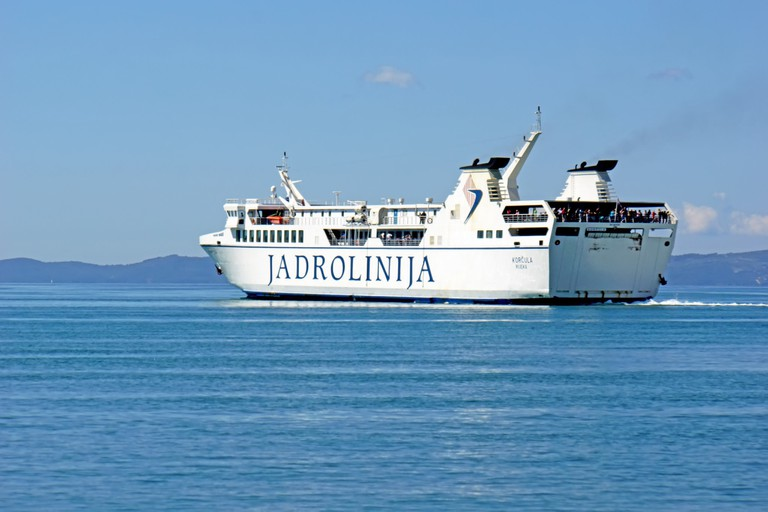 Jadrolinija ferry | © Dennis Jarvis/Flickr