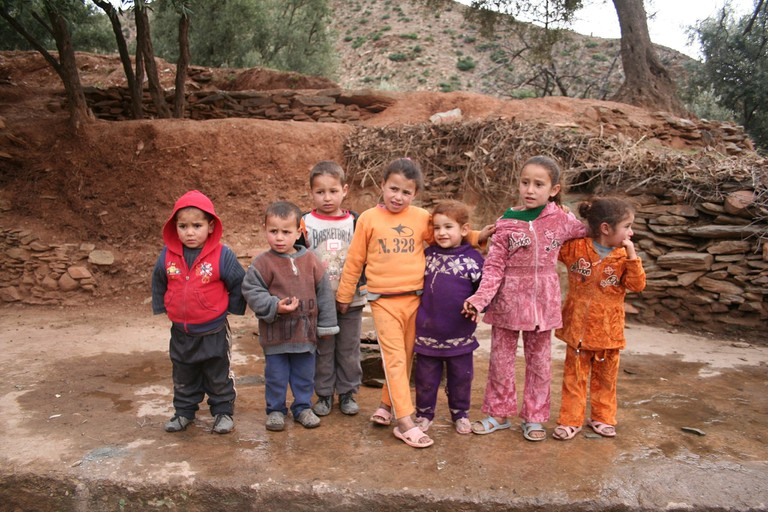 Moroccan children
