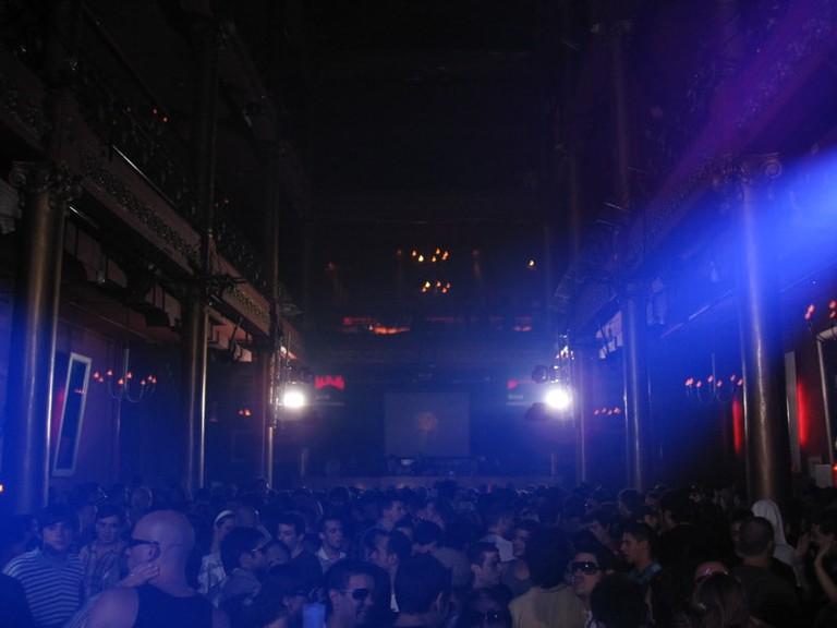 A popular nightclub in Buenos Aires