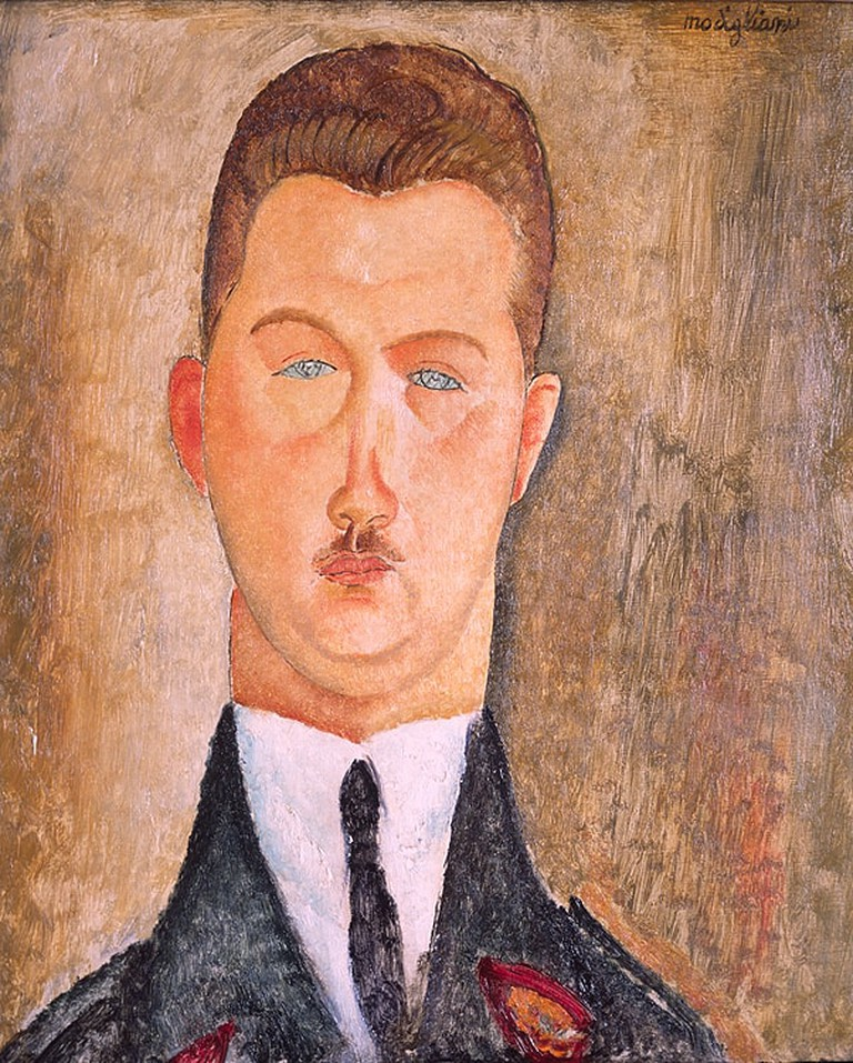 Amedeo Modigliani_Dr Francois Brabander_1918_Courtesy Estorick Collection