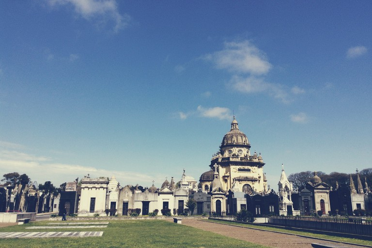 Chacarita cemetery, a favourite of design, architecture and photography buffs