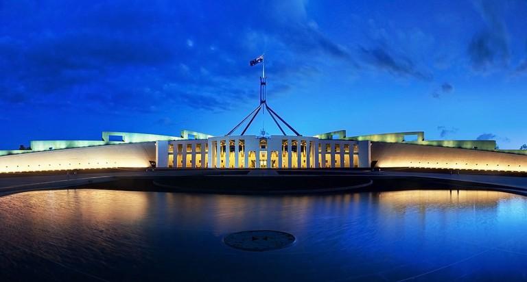 Australian Parliament House   © JJ Harrison:Wikimedia Commons