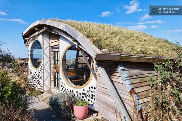 Eco-friendly 'owl house'