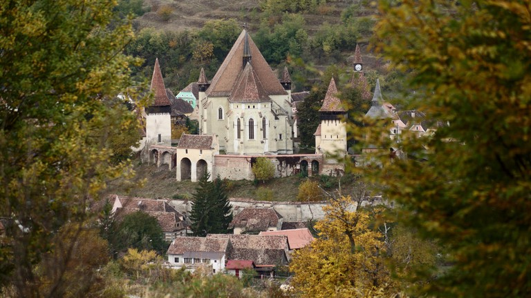 Fortified church in Biertan, Transylvania