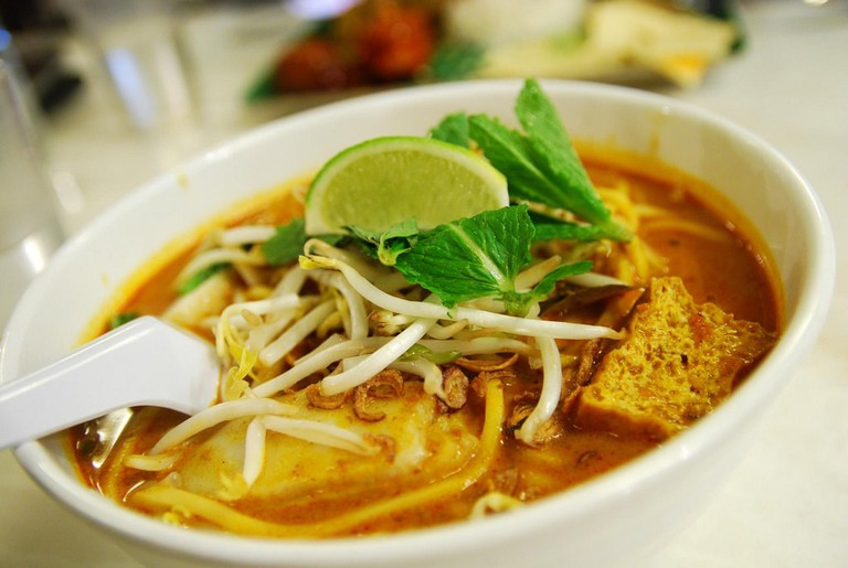 Chicken Curry Laksa