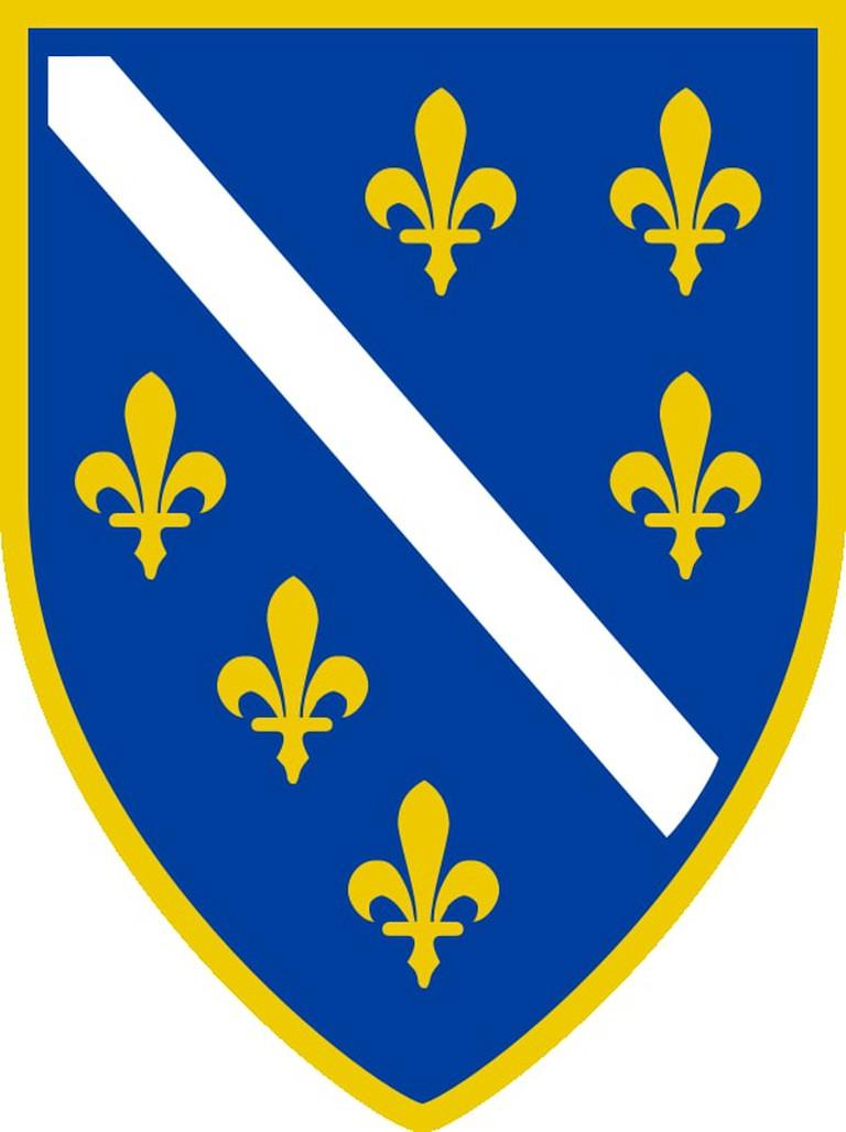 Coat of Arms of Bosnia and Herzegovina 1992-1998 | © WikiCommons