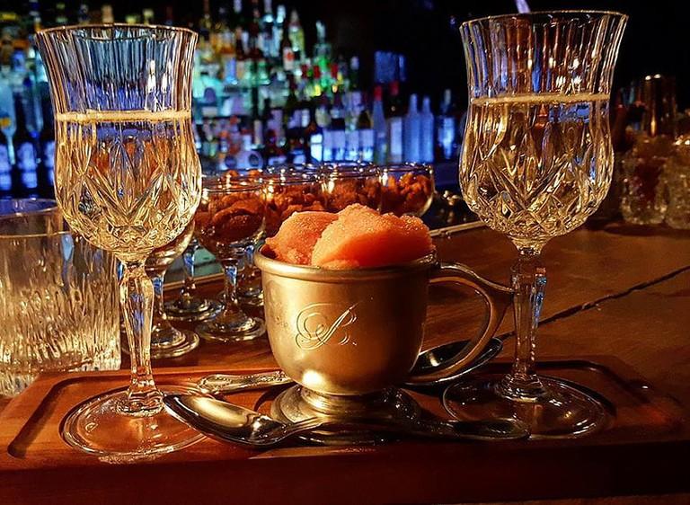 Cocktails at Bourne & Co.
