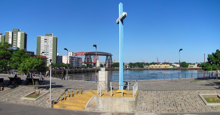The port of La Boca, near San Telmo