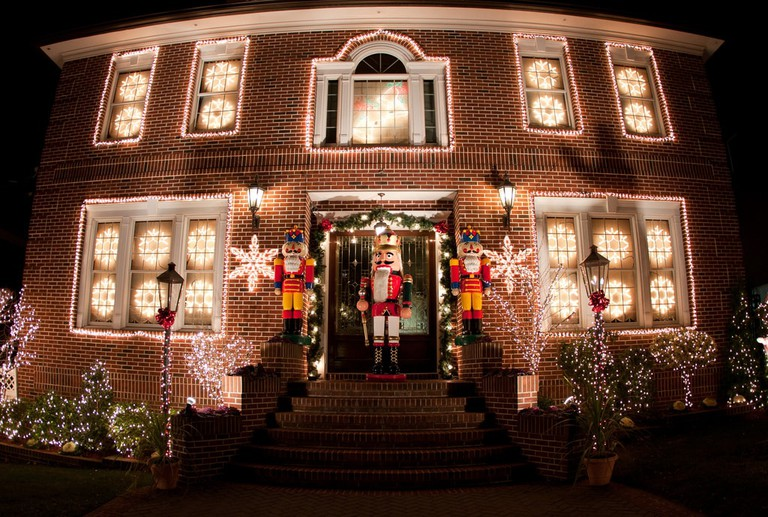 Dyker Heights Christmas lights | Dov Harrington Flickr