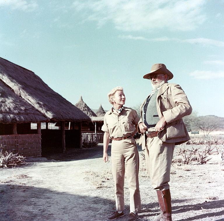 https://commons.wikimedia.org/wiki/Ernest_Hemingway#/media/File:Ernest_and_Mary_Hemingway_on_safari,_1953-54.jpg