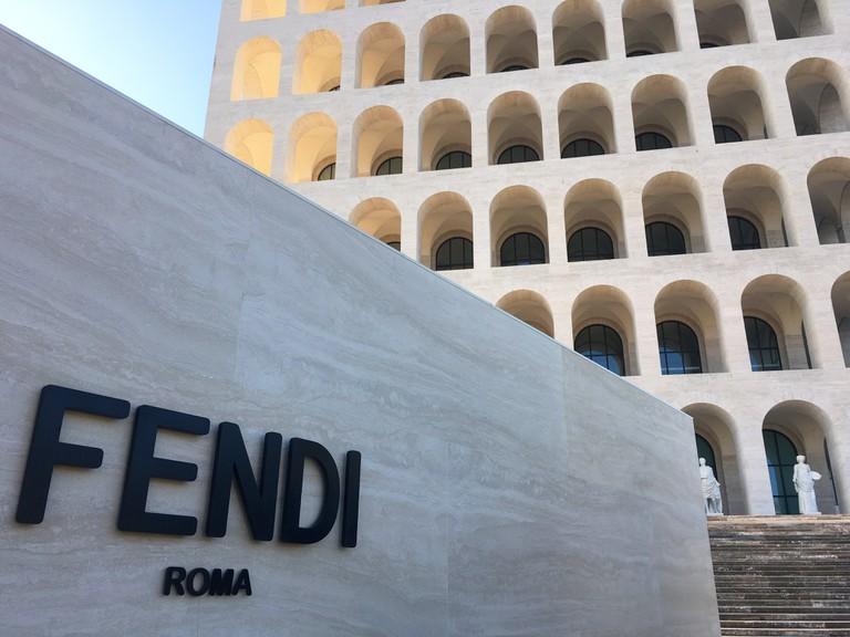 Fendi Headquarters at Palazzo della Civilità | © Emma Law