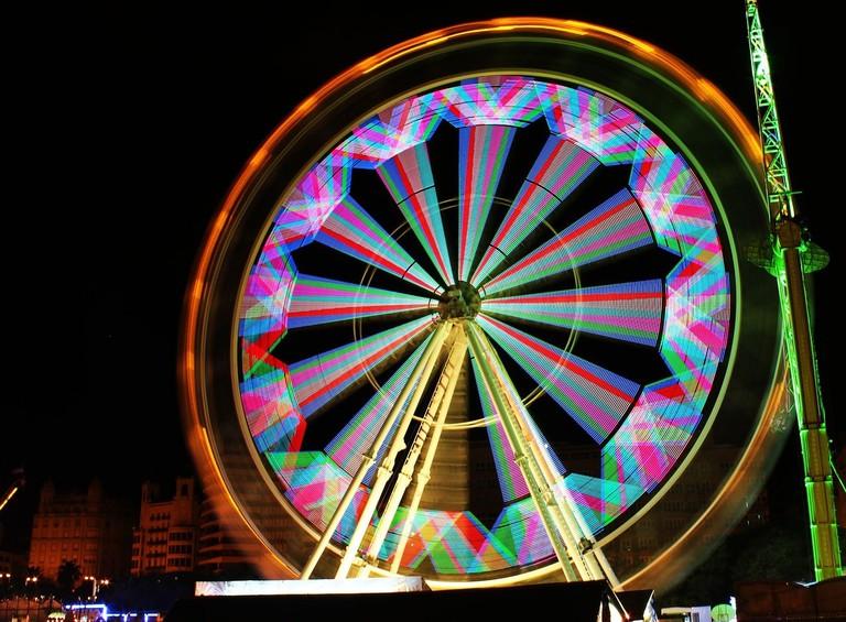 Feria de Atracciones de Navidad, Valencia