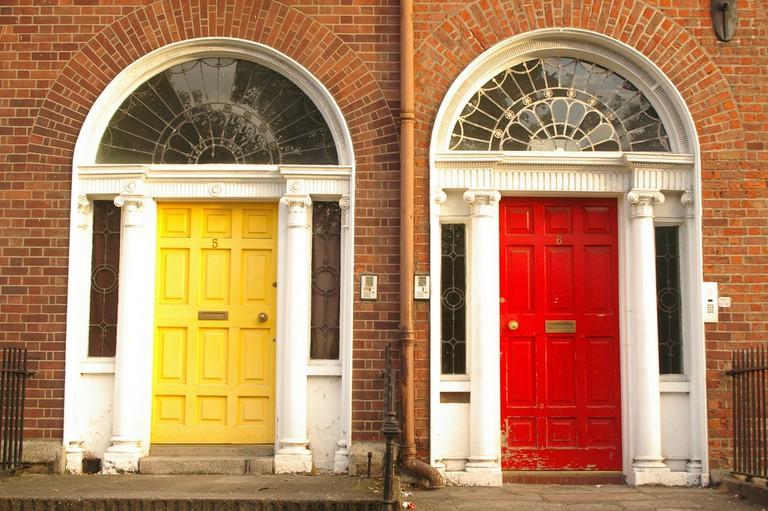 Goergian doors