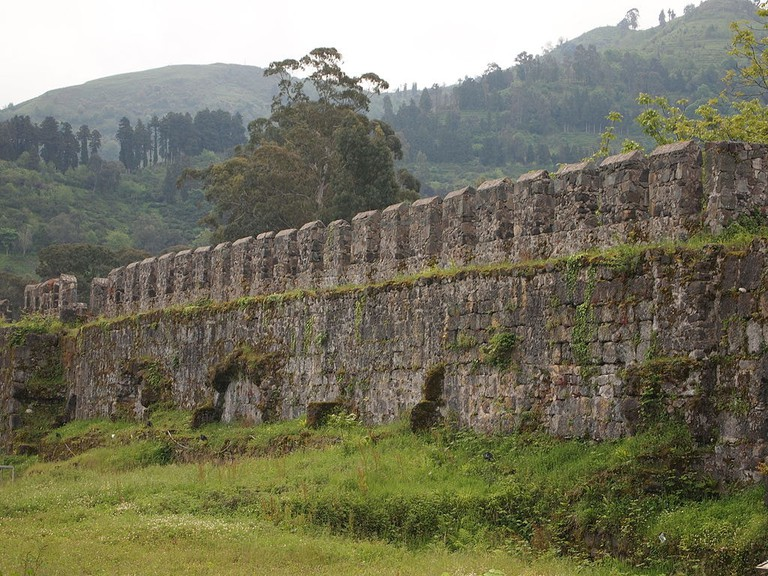 Gonio_fortress_walls